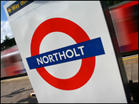 Northolt tube station